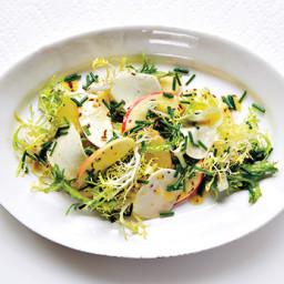 Kohlrabi and Apple Salad with Caraway