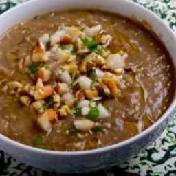 Kohlrabi and Potato Soup