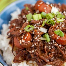 Korean BBQ Beef (Slow Cooker)