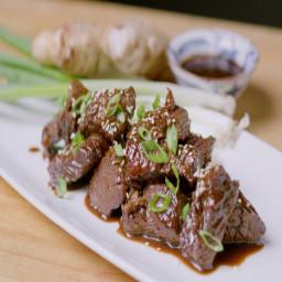 Korean BBQ Steak Tips