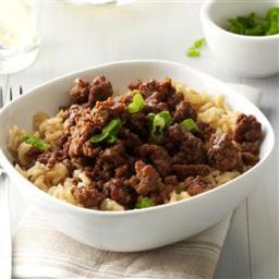 Korean Beef and Rice Recipe