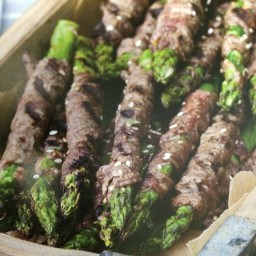 Korean Beef-Wrapped Asparagus