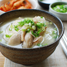 Korean Chicken Soup (Dak Gomtang)