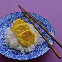 Korean Chicken Tofu Log
