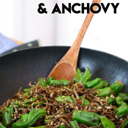 Korean Pepper and Anchovies (Myulchi Bokkeum) Recipe and Video