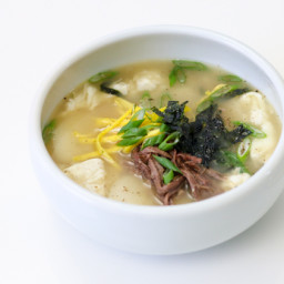 Korean Rice Cake Soup