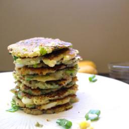 Korean-Style Potato and Scallion Pancakes