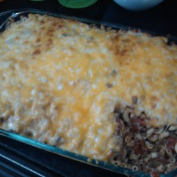 Kristopher's Taco Macaroni Casserole