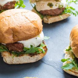 Kroger Grilling Recipe - Grilled Italian Turkey Burgers