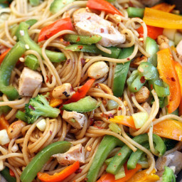 Kung Pao Noodle Stir-Fry