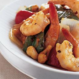 Kung Pao Shrimp with Cashews