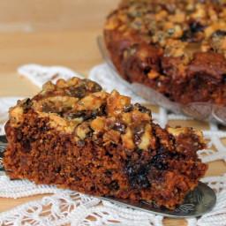 La Lussuriosa: torta al caramello con noci e cioccolato bianco