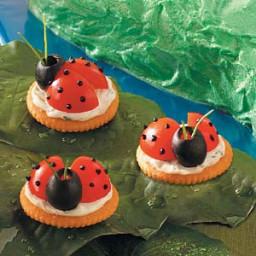 Ladybug Appetizers Recipe