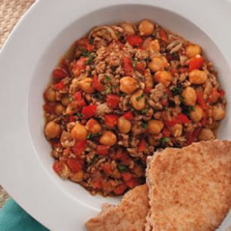 Lamb and Chickpea Chili