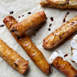 Lamb and Phyllo Cigars