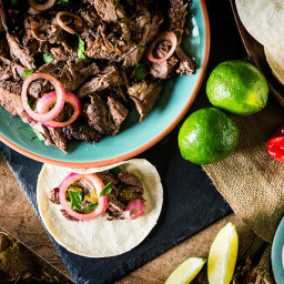Lamb Barbacoa | Low and Slow Smoked Leg of Lamb