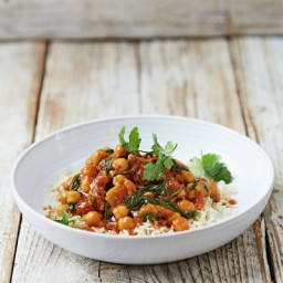 Lamb & chickpea curry