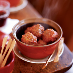Lamb Meatballs with Mint