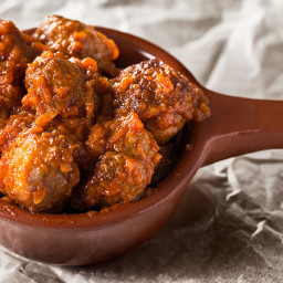 Lamb Meatballs with Vermouth Recipe - Receta de Albondigas de Cordero con V