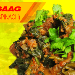 Lamb Saag (Lamb With Spinach)