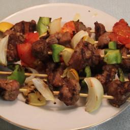 Lamb Shish Kebab