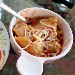Lasagna Soup (1/2 size version)