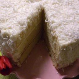 Last-Minute Coconut Cake