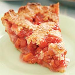 Lattice-Top Cherry Pie