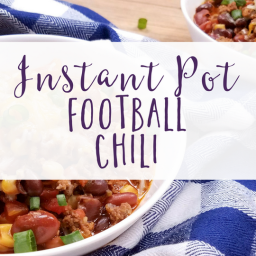 Laura's Football Chili for Instant Pot!