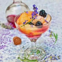 Lavender-Blackberry Simple Syrup