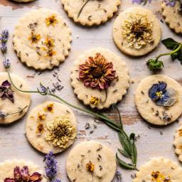 Lavender Lemon Sugar Cookies.