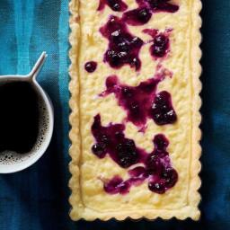 Lavender Rice Pudding Tarts