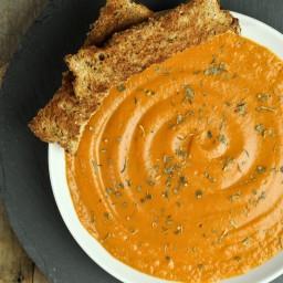 Lazy Day Vegan Tomato Bisque