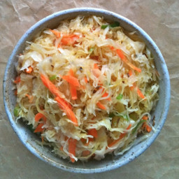 Leah's Healthy Sauerkraut Salad