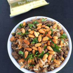Lebanese Hushwee Rice with Toasted Pine Nuts