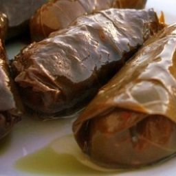 Lebanese Stuffed Grape Leaves