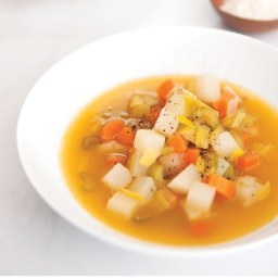 Leek and Cannellini Bean Soup
