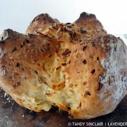 Leek And Cheese Soda Bread