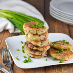 Leftover Mashed Potato Cakes (Gluten-Free)