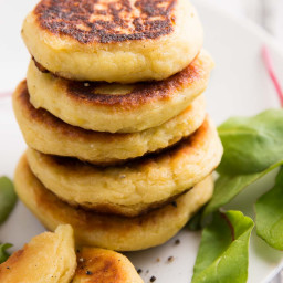 Leftover Mashed Potato Cakes Recipe