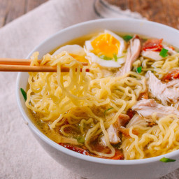 Leftover Thanksgiving Turkey Ramen