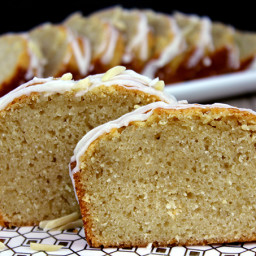 Lemon Almond Milk Pound Cake