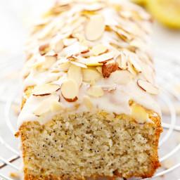 Lemon Almond Poppyseed Quick Bread