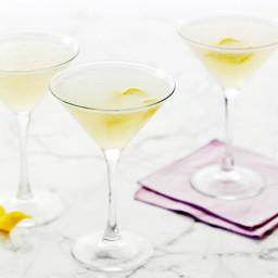 Lemon and Vodka Martinis