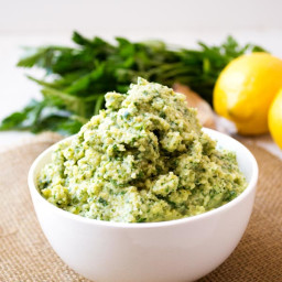 Lemon Artichoke Pesto