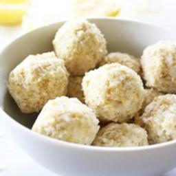 Lemon Bar Fat Bombs {Keto, Low-Carb, Paleo, Grain-Free, Gluten-Free, Dairy-
