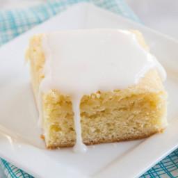 Lemon Blondie Bars