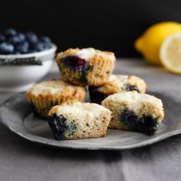Lemon Blueberry Cheese Danish Muffins