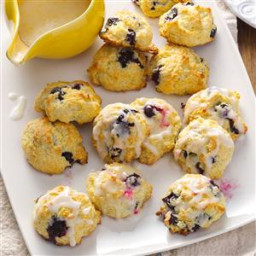 Lemon Blueberry Drop Scones Recipe