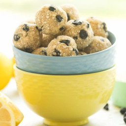 Lemon Blueberry Energy Bites